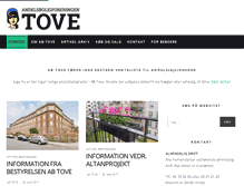 Tablet Preview of abtove.dk